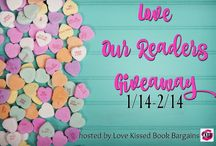 Giveaways & Book News from Talina's blog