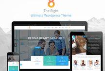 The8 - Ultimate Wordpress Theme / #wordpress #theme #themeforest #business