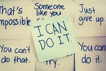 my motivation / by Caroline Soileau