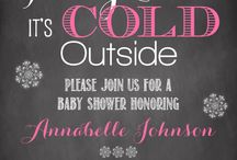 Baby It's Cold Outside Shower Ideas