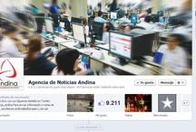 Páginas de medios de comunicación en Facebook
