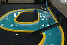 Swimming pool for horses