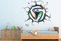 Wandtattoos Fußball