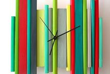 Time clocks / by Joni Wells