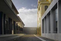 Fondazione Prada by OMA / Interior Design I research