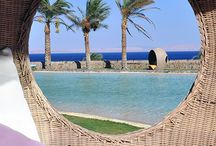 Best Beach & Island Retreats / Merging French and Asian influences with ultra-modern lines, architect Alain Jaouen created this unforgettable oasis on the Red Sea. If you're looking for a thrill, try windsurfing or dive the famous Blue Hole. From Member Favorites 2014: http://spg.to/beachandisland / by Starwood Preferred Guest