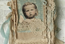 Burlap * Muslin * Ticking / Things to do with muslin and burlap and other fabrics