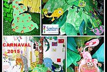 Creaciones / La Escuela Infantil Sambori imparte la educación a través del Arte.