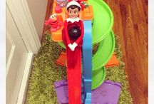 Elf on the Shelf   / Rosie's adventures in our house  / by Domenica Soroka