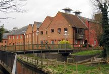 Maltings / The beautiful building which is home to the arts/cultural organisation which plays host to the Sound Vault studio in Farnham, UK.