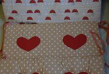 Crib Bumpers / Ochraniacze do łóżeczka / Crib bumpers home made ochraniacze robione przeze mnie i nie tylko