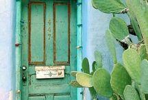 voordeuren ibiza style