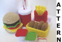 crochet FOOD / by Elena Jones