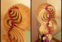 видео( плетение кос )
