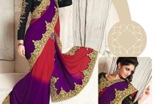 Designer Saree Designs 2013