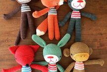 Knitted toys / knitted and crochet toys