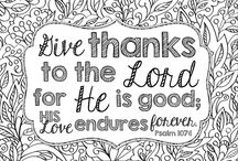Bible Verse Colouring pages