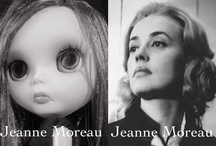 "My Custom Blythe ""Jeanne Moreau"" Model"