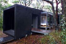 modern lodge idea!