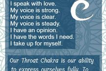 Chakra throat