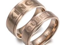His and Hers Rings / Collection of rings for couples and lovers