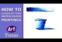 Art painting tutorials
