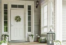 ulko-ovi ja sisäänkäynti