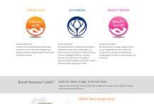 Portofolio Desain Web / Beberapa contoh hasil desain web Bestariweb Studio