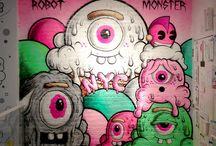 Contemporary street art