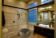 Wet Room Designs and Ideas / Thinking of transforming your bathroom into a wet room? See some wet room designs and ideas here to help you choose your perfect wet room.