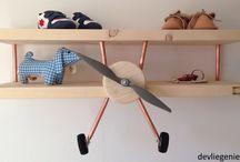 Vliegtuig plankje