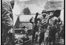 Battle of the Bulge 1944 1945 / The Battle of the Bulge (16 December 1944 – 25 January 1945) was a major German offensive campaign launched through the densely forested Ardennes region on the Western Front toward the end of World War II in Europe.