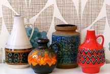vintage ceramics and pottery