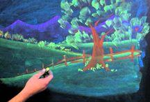 칠판그림그리기