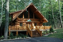 Log Cabins / We love log cabins, here are some of our favorites from all over the country. / by Branson Cedars Resort