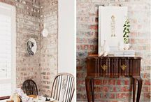 Wallpaper / Get this effect by using our Design Syndicate's range called Exposed Warehouse.