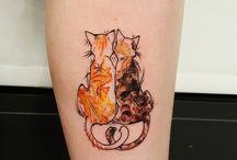 Tatuajes gatito