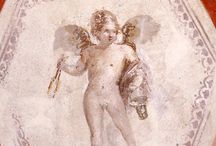 Cupid Draw Back Your Bow / The mischievous god of love shooting his darts of desire.