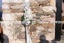 Λαμπάδες Γάμου / οργάνωση και διακοσμηση γαμου, εκκλησια δεξιωση, στολισμος εκκλησιας, στολισμος δεξιωσης, νυφικες ανθοδεσμες, λαμπαδες γαμου