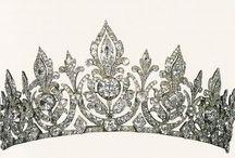 Diadèmes et Tiares anglaises (aristocratie)