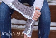 Glove / mittens / Patterns for arm wear