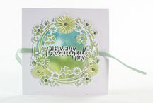 Nuvo Embellishment Mousse / Cards made using our wonderful embellishment Mousse :)