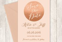weddings / Wedding invitations and ideas.