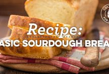 EAT // Sour Note / Ideas for using our sourdough starter.