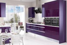 Purple kitchen /Lila konyhák