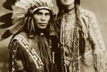 Foto vintage indiani d'America