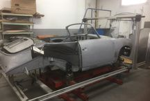 Porsche 356 coupe to cabriolet modification