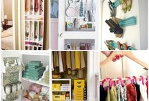 Organized everything / Simple ways to organize my home