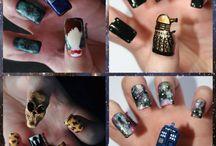 Doctor Who ~ Nail Art