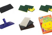 HAND AND UTILITY PADS / Hand and utility pads make your cleaning work really easy and hygienic. Mobile Janitorial Supply presents you a wide variety of  Hand and utility pads to have you an easy cleaning.